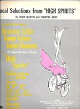 "vocal selections from ""HIGH SPIRITS"" songbook (1964) 6 songs"