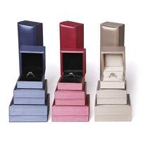 GI- Bracelet Necklace Box Jewelry Gift Storage PU Leather Case Organizer Holder