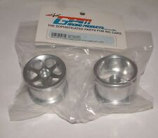 LOSI MINI-T GPM FRONT SINK SURFACE 6 POLE SILVER ALUMINUM RIMS SMT0603F/L