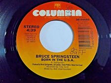 Bruce Springsteen Born In The USA / Shut Out The Light 45 1984 Vinyl Record
