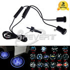 2X Latest 4th Gen Car Projector Laser LED Door Welcome Step Shadow Logo Lights