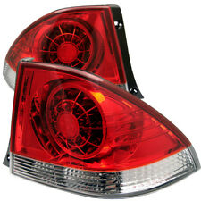 Fit Lexus 01-05 IS 300 Red Clear LED Rear Tail Lights Brake Lamp Set Sedan