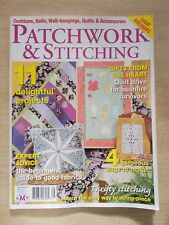 Patchwork & Stitching Vol 9 #11~Quilts~Doll~Cushion~4 x Bags~Wall-Hanging
