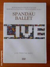 DVD SPANDAU BALLET - LIVE FROM THE N.E.C. (S6)