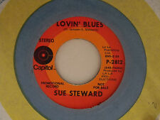 Sue Steward 45 LOVIN' BLUES bw IF I EVER LOVED..   VG