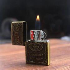 Briquet Essence Lighter Jack Daniel's Bouteille Whisky Rechargeable Butane Gaz