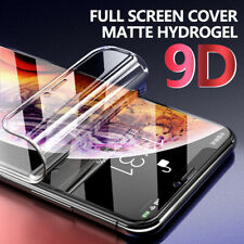 For iPhone 12 Pro Max 12 Mini 11 XS 8 7 Matte Frosted Hydrogel Screen Protector
