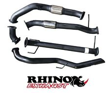 "MAZDA BT 50 3L 3"" MILD STEEL TURBO BACK SPORTS EXHAUST WITH CAT / NO MUFFLER"