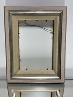 "VTG. Aesthetic Wood Mid Century Design Wood Picture Frame Fits 5""x7"""
