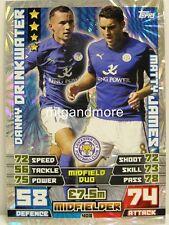 Match Attax 2014/15 Premier League - #408 Drinkwater / James - Duo