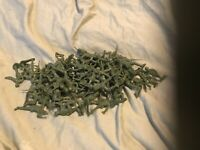 Vintage 62 Army Soldier Men  Plastic