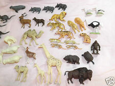 Lots of Britains Zoo Animals Collection 1970 job lot plus others hong kong 70+