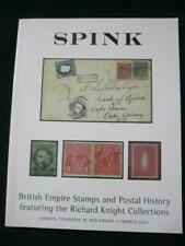 SPINK AUCTION CATALOGUE 2003 BRITISH EMPIRE 'KNIGHT' COLLECTION