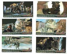 DRAGON HEART SET  1996 WIDEVISION FOIL C1, C2, C3, C4, C5 & C6 INSERT CHASE SET