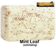Pre de Provence French Soap MINT LEAF 250 gram Shea Butter Bath Shower Bar XL