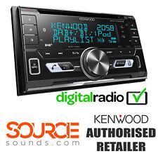 Kenwood dpx7100dab Doppel DIN DAB USB Bluetooth CD mp3 Stereo