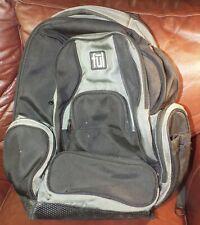 Ful Tennman Laptop Backpack 17 in. Black/Grey