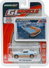 `67 Ford Mustang Fastback  GULF Racing  1967 ** Greenlight 1:64 RAR+OVP