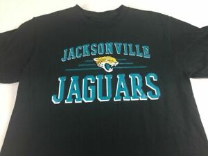 Jacksonville Jaguars T-Shirt Adult XS/S Cotton NFL Football Florida NEW Mens Tee