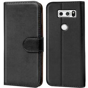 Etui Coque Pour LG V30 Téléphone Portable Rabattable Housse Livre Slim Flip Étui