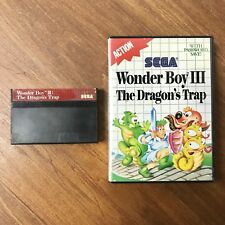 Wonder Boy III: The Dragon's Trap SEGA MASTER SYSTEM Game + Case
