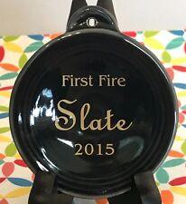 Fiestaware Slate First Fire Ornament Fiesta 2015 Christmas Holiday NIB