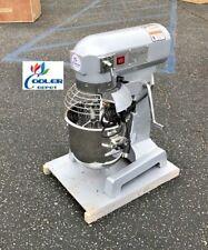 NEW 10 Quart Mixer Machine 3 Speed Bakery Kitchen Equipment MX10 Food Dough Mix