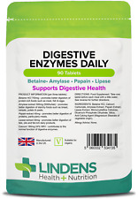 Digestive Enzymes Daily, for healthy digestion (90 tablets) [Lindens 4135]