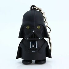 New Light Up LED Star Wars Darth Vader With sound Keyring Keychain Gift