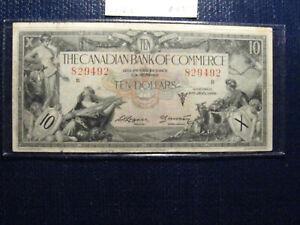 1935 bank of commerce 10 dollar