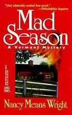 WWL Mystery: Mad Season : A Mystery by Nancy M. Wright (1998, Paperback)