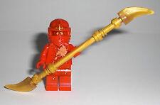 LEGO Ninjago - NRG Kai - Figur Minifig Ninja Energie Cole Zane Jay 9591