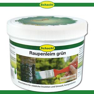 Schacht 500 g Raupenleim grün   Leimring zum Streichen Obstbaum Schutz Pflege