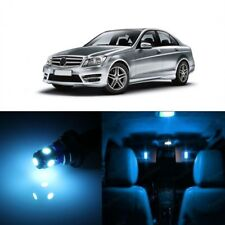 18 x Ice Blue LED Interior Light Kit For 2008 -2014 Mercedes C Class W204 +TOOL