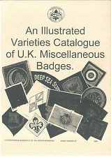 2000 UNITED KINGDOM / BRITISH SCOUTS MISC - Badge Patch Varieties Catalogue