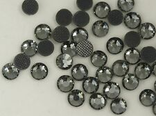 DMC  Rhinestones 2880 pcs 10ss  Black Diamond Hotfix iron-on,