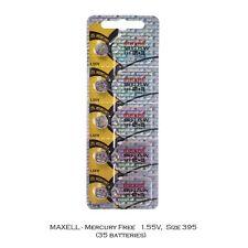Maxell 395 SR927SW SR927 Silver Oxide Watch Batteries (35Pcs)