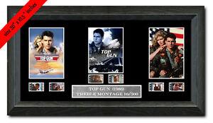 Top Gun  Tom Cruise Treble framed filmcell    fc3009