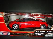 Motormax Pagani Huayra Red 1/18