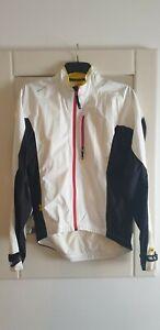 Mavic HC H2O Jacket White Size Medium.