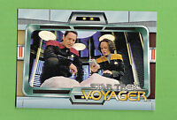 #D264. 1995  STAR  TREK  VOYAGER SERIES 2   PROMOTIONAL  CARD P1