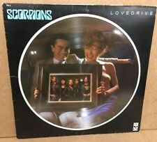 Scorpions Love Drive French Picture Disc LP