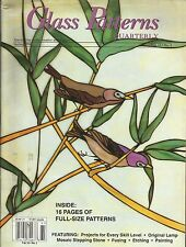 Stained Glass Art Magazine: Glass Patterns Quarterly - Spring 1996 & Summer 1996