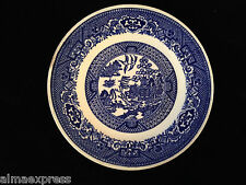 "Blue Willow Ware by Royal China Underglaze E52 - 6-1/4"" BREAD / DESSERT PLATE"