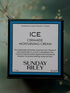 Sunday Riley ICE Ceramide Moisturizing Cream, Full Size: 50 ml