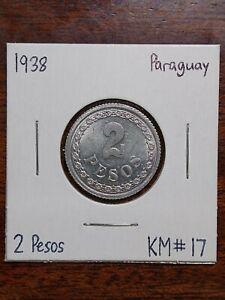 1938 Paraguay 2 Pesos