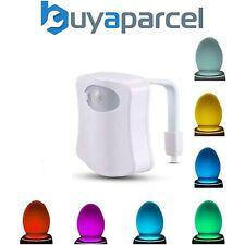 Croydex Toilet Night Light 8 Colors Changing LED Sensor PIR Motion Activated
