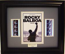 ROCKY BALBOA FRAMED FILM CELL SYLVESTER STALLONE