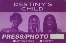 Destiny'S Child 2001 Backstage Pass Beyonce