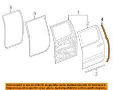 GM OEM Rear Door-Rear Seal Right 23455372